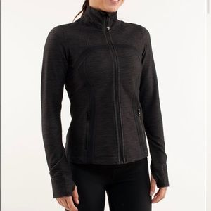 Lululemon Define Jacket • Black Slub Denim / Black